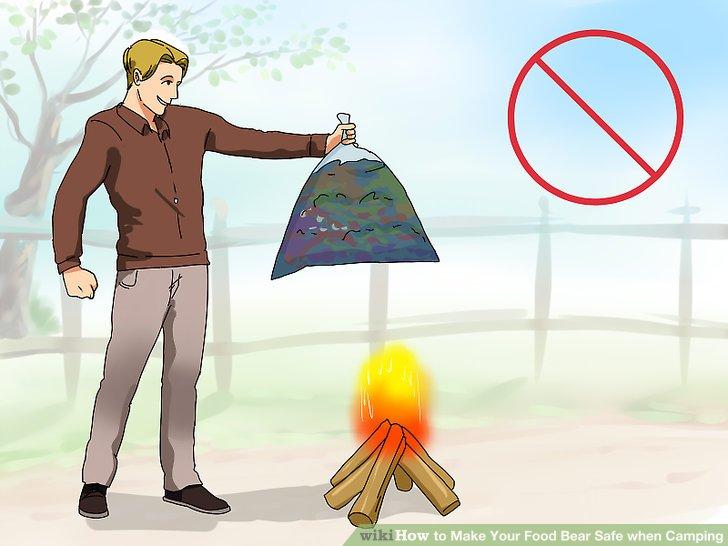 Vermeiden Sie brennenden Müll und übermäßige Nahrung.