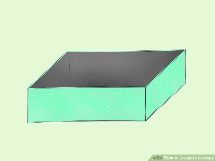 Paint a wooden box the color you want.