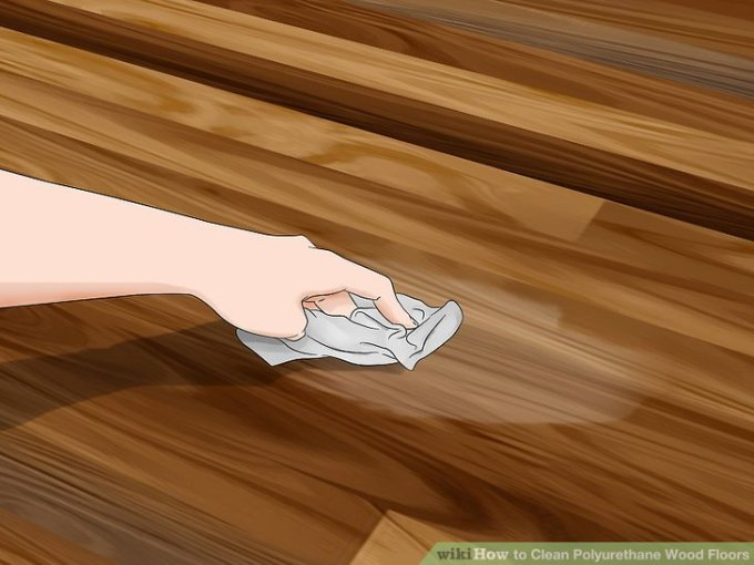 how to clean polyurethane wood floors