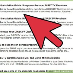 Wiring Diagram For Directv Hd Dvr 3 Way Light Switch 2 Easy Ways To Install Satellite Tv Wikihow Image Titled Step 4