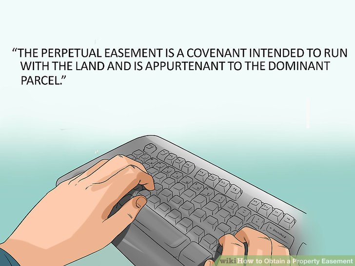 Explain whether the easement can be transferred.