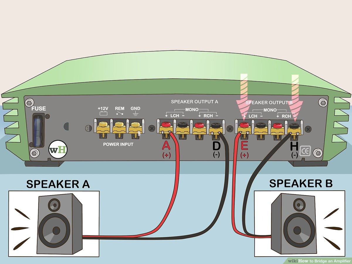 hight resolution of multi amp car audio wiring wiring diagrams konsulthow to bridge an amplifier 7 steps with