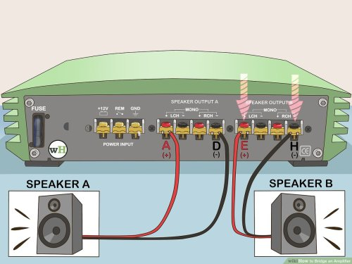 small resolution of multi amp car audio wiring wiring diagrams konsulthow to bridge an amplifier 7 steps with