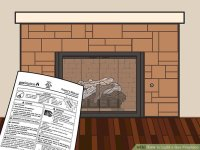 3 Ways to Light a Gas Fireplace - wikiHow