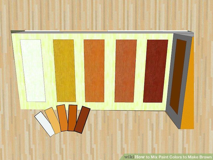 Mischen Sie kostenlos Farben.