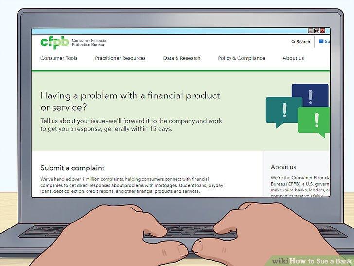 Senden Sie eine Beschwerde an das Amt für Verbraucherschutz (CFPB).