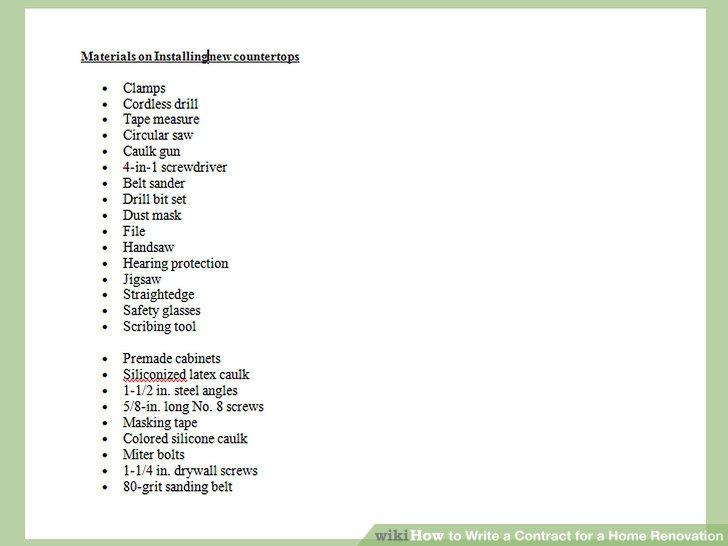 Beschreiben Sie die Materialien, die verwendet werden.