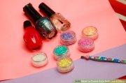 create fake nails of