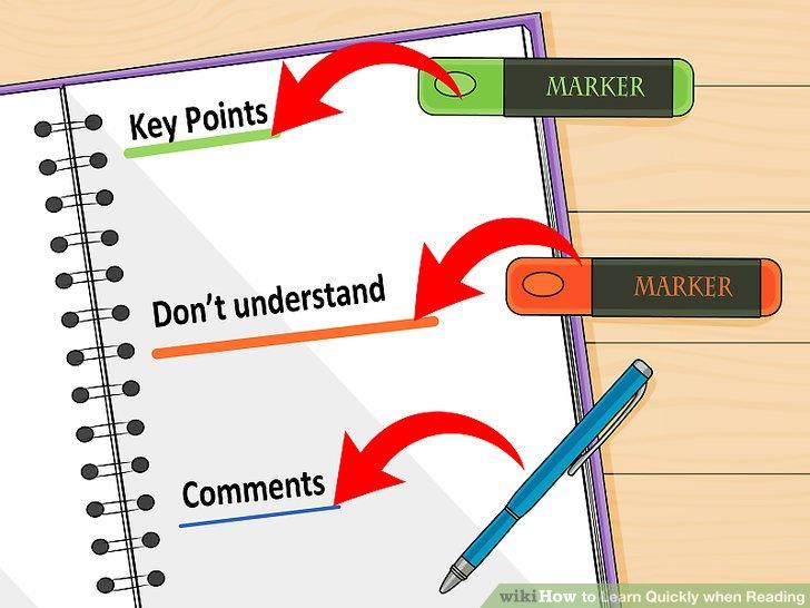 Probieren Sie das Textmarker- und Stiftlesesystem aus, wenn es sich um Ihr eigenes Buch oder Papier handelt.