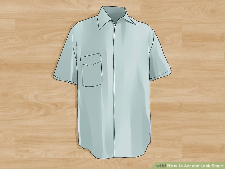 Tragen Sie manchmal Hemden, um es zu vermischen.