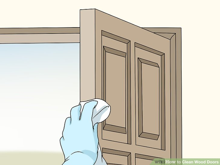 How to Clean Wood Doors 10 Steps with Pictures  wikiHow