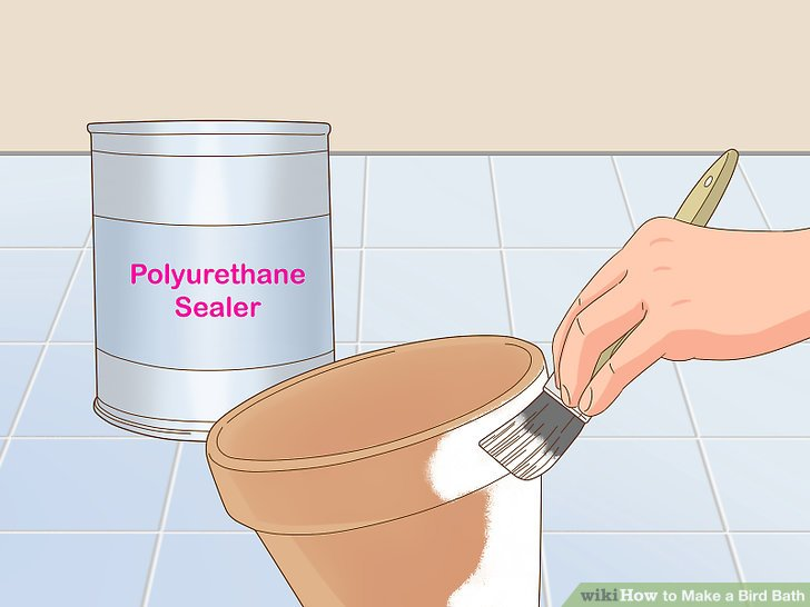 Apply a coat of polyurethane sealer.