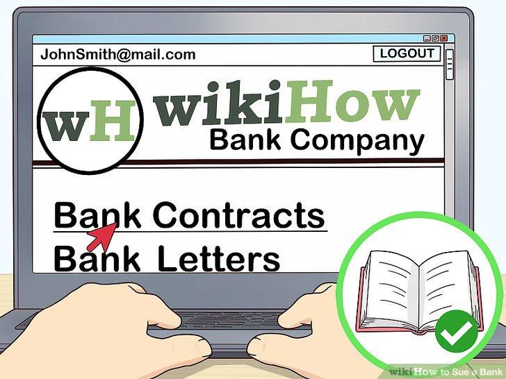 Lesen Sie alle Verträge oder Briefe der Bank sorgfältig durch.