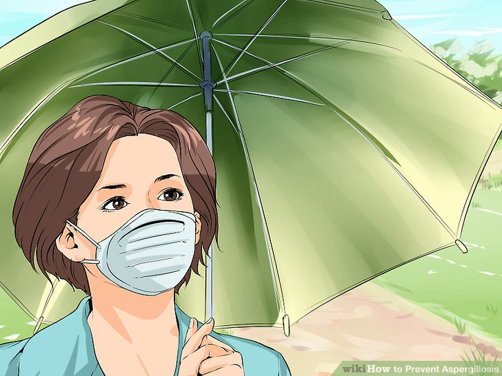 Use a dust mask.