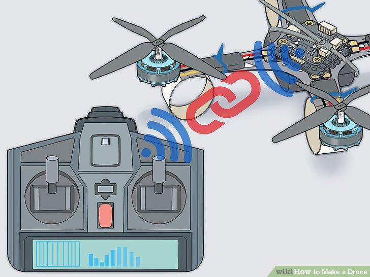 Verbinden Sie das Fernbedienungssystem mit dem Flugcontroller.