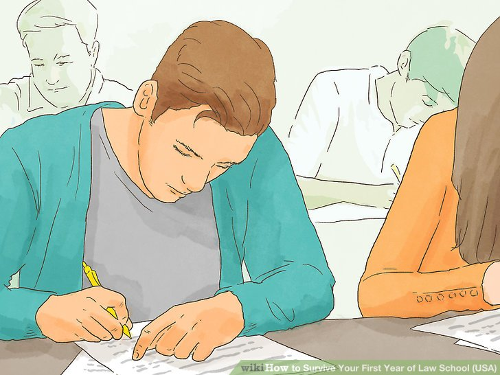 Machen Sie sich Notizen im Unterricht.