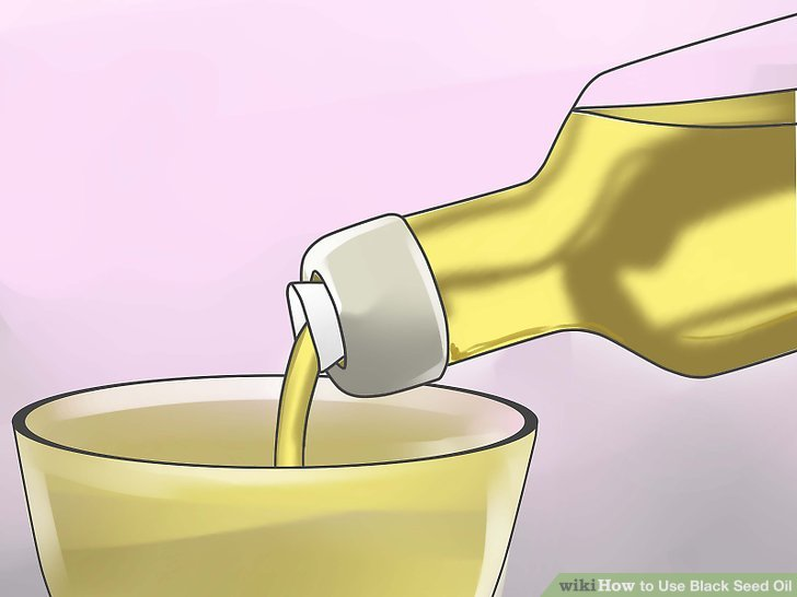 Mix the oil with an equal amount of olive oil.