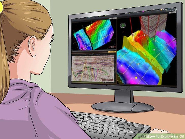Verwenden Sie die gesammelten Daten, um eine 3D-Visualisierung des potenziellen Reservoirs zu erstellen.