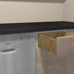 Glazed Kitchen Cabinets Built In Trash Cans For The How To Glaze With Pictures Wikihow