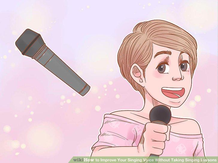 Verwenden Sie ein Mikrofon, um Ihre Stimme aufzunehmen.