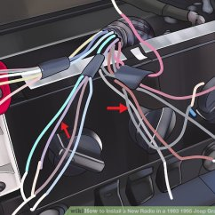 1995 Jeep Cherokee Radio Wiring Diagram Garage Door Opener Parts How To Install A New In 1993 Grand Image Titled Step 6