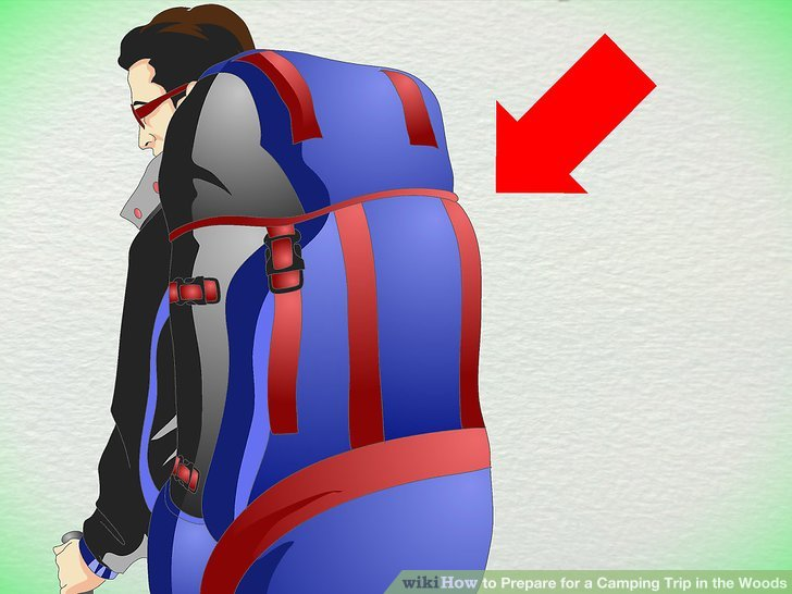 Wähle den richtigen Rucksack.