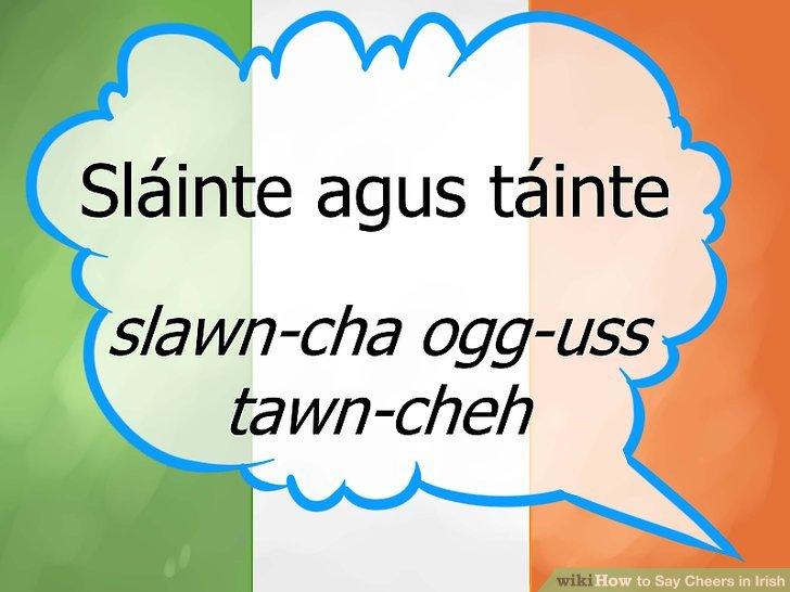 Slainte Pronunciation