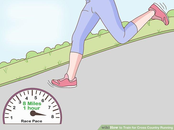 Laufen Sie in einem gleichmäßigen Tempo.