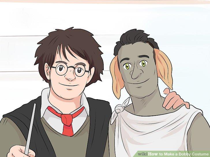 Häng dich eng um jeden, der als Harry Potter gekleidet ist.