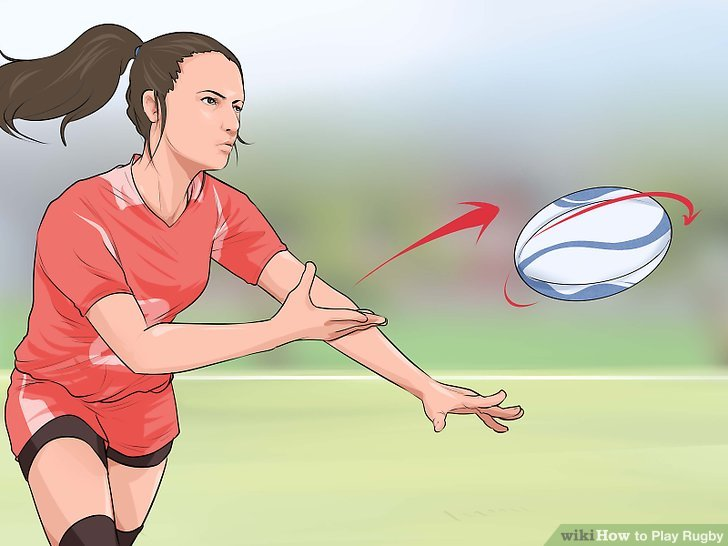 Werfen Sie mit Geschwindigkeit und Genauigkeit, indem Sie den Ball drehen.