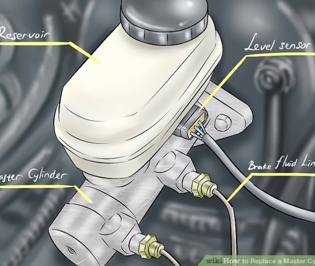 Image Titled Replace A Master Cylinder Step