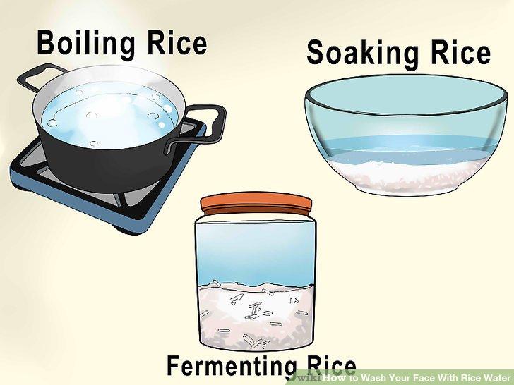 Entscheiden Sie, wie das Reiswasser zubereitet werden soll.