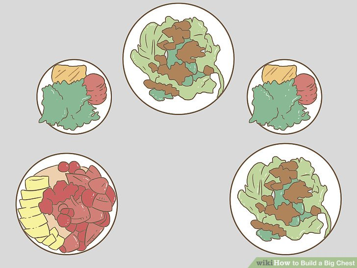 Essen Sie mehr als drei Mahlzeiten pro Tag.