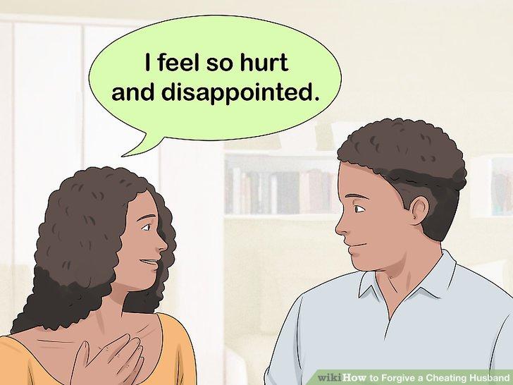 Sprechen Sie darüber, wie Sie sich über die Affäre fühlen.