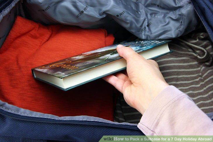 Alles andere sollte im Handgepäck mitgenommen werden.