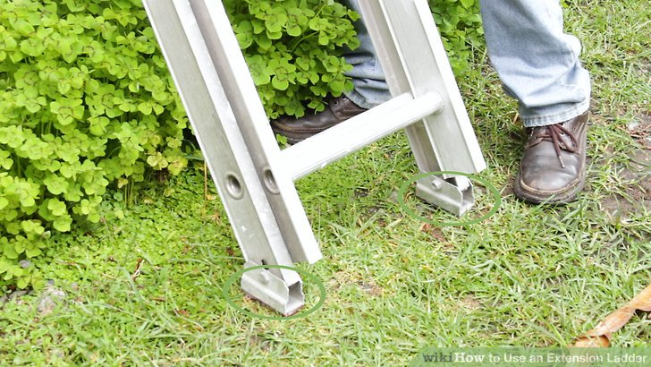 Understand why extension ladders are considered dangerous.