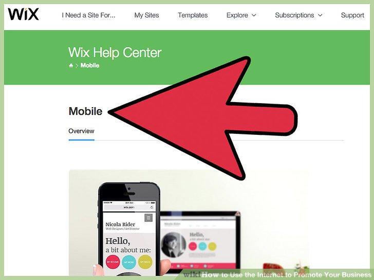 Gestalten Sie Ihre Website mobil.