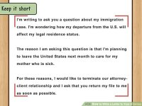 How to Write a Letter to Your Attorney (with Pictures ...