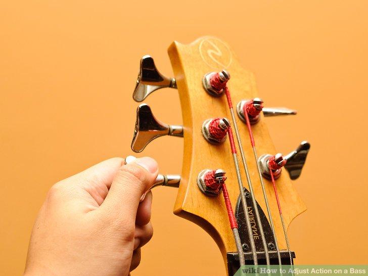 Stimmen Sie den Bass so, wie Sie ihn normalerweise spielen.