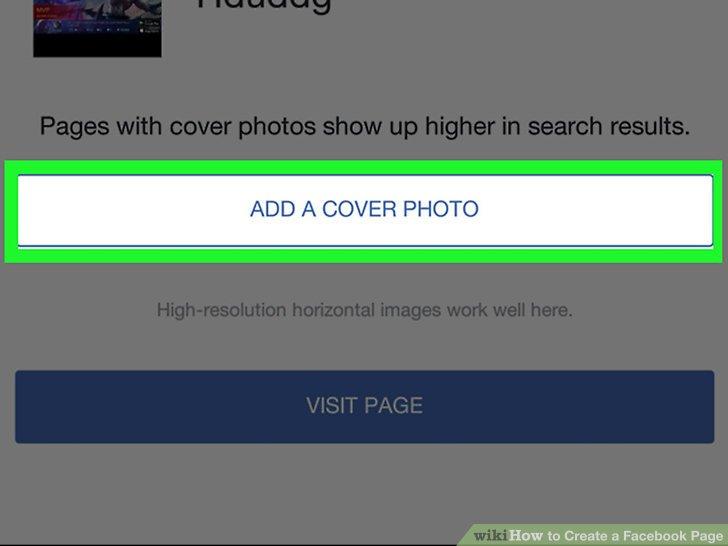Bir kapak fotoğrafı ekle.
