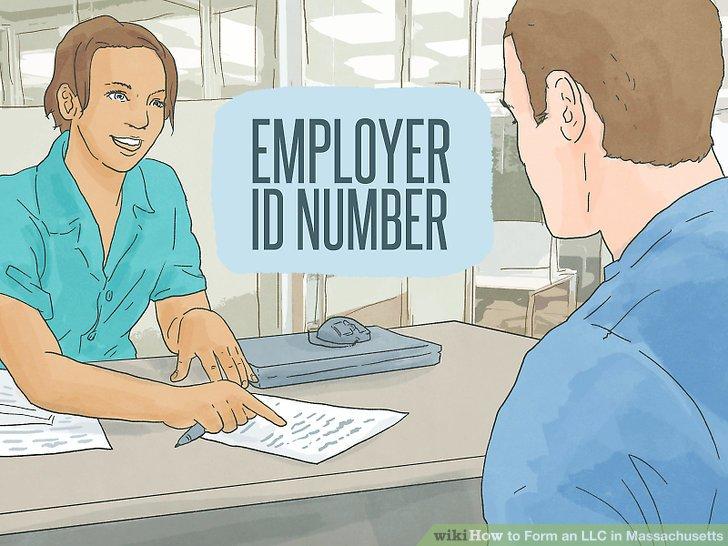 Holen Sie sich eine Arbeitgeber-Identifikationsnummer von der IRS.