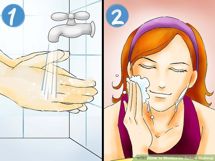 Wash your hands and face.