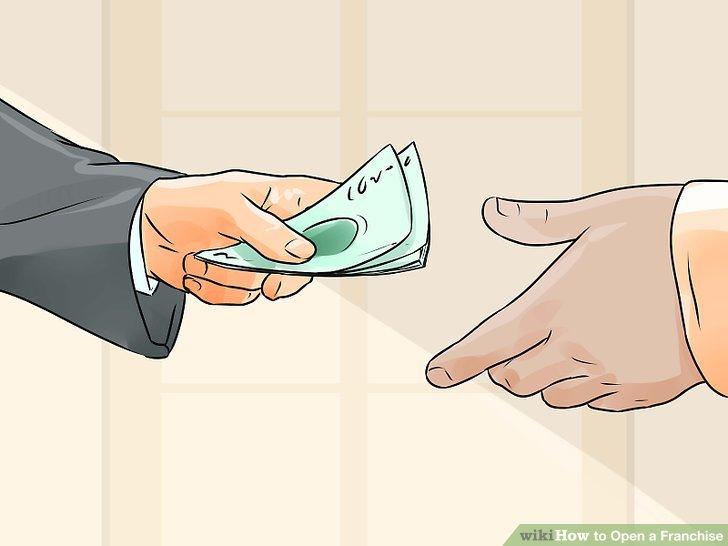 Holen Sie sich eine genaue Summe für die Kosten Ihrer Franchise.