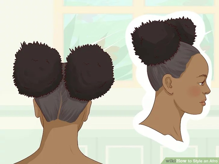 3 Simple Ways To Style An Afro Wikihow