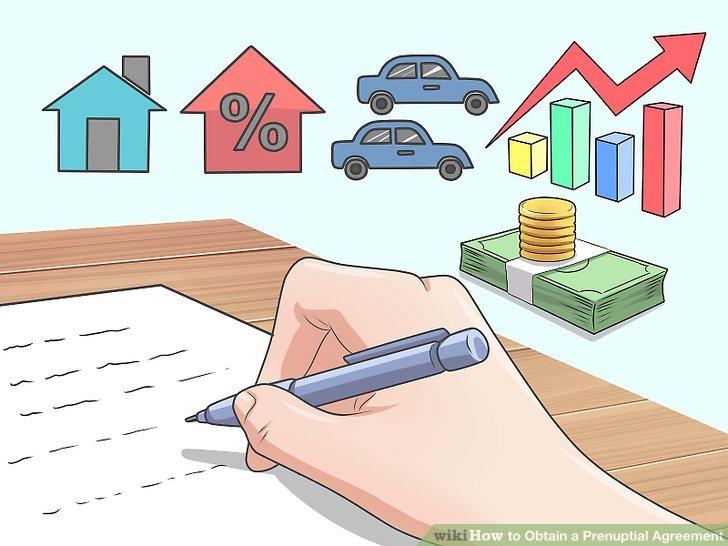 Definieren Sie, wie die Immobilie im Falle einer Scheidung zugewiesen wird.