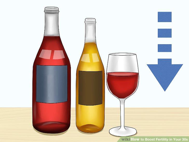 Vermeiden Sie den Konsum großer Mengen Alkohol.