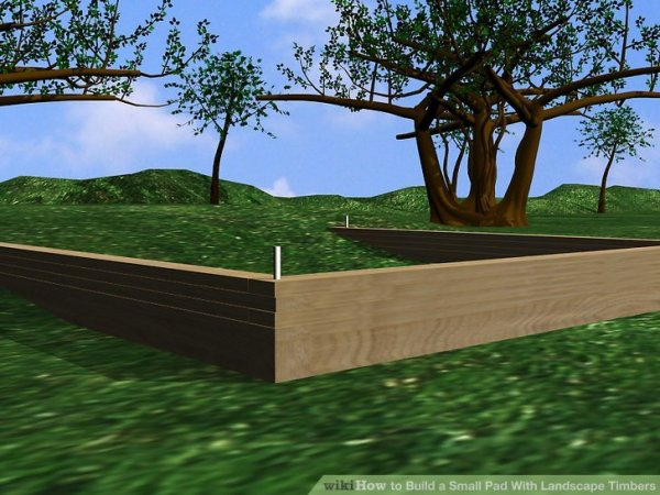 25+ Landscape Timbers Parking Lot Pictures and Ideas on Pro