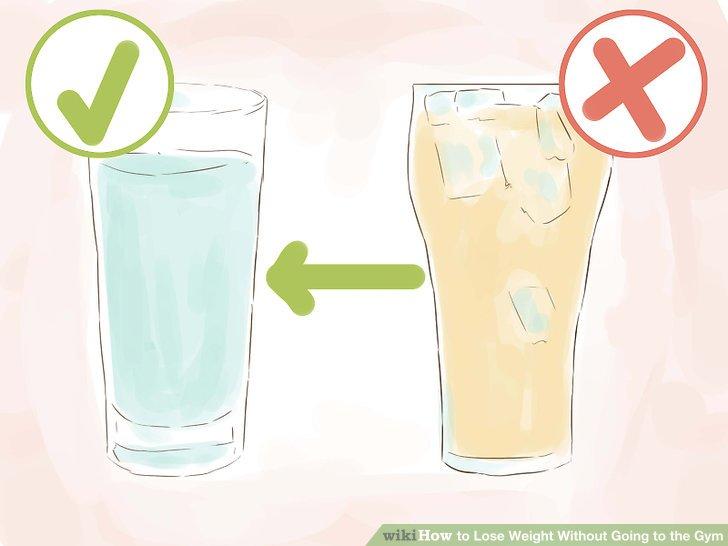 Trinke deine Kalorien nicht.