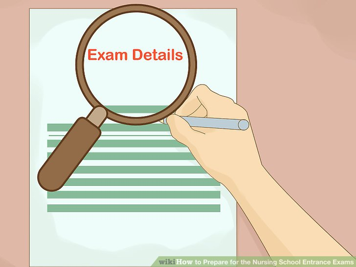 Know the details of your examination.
