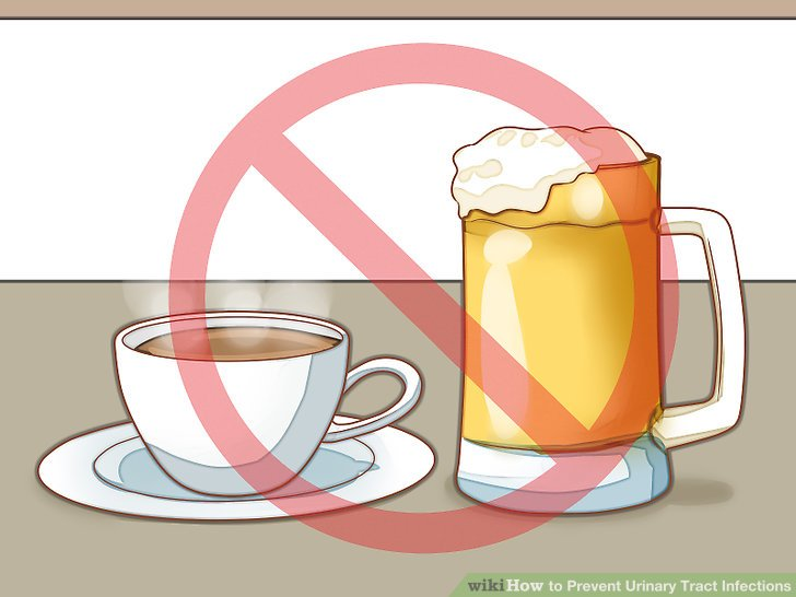 Avoid substances that irritate the bladder.